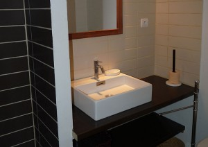 Bathroom, private appartment to rent, Montpellier