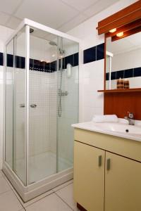 Modern bathroom in an apart-hotel Montpellier