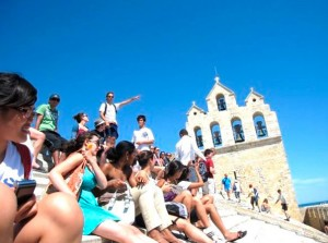 Aktivitäten in Montpellier - IEF - Besichtigung eines touristischen Ortes