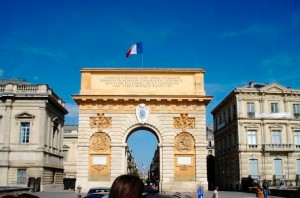Aktivitäten in Montpellier - IEF - Arc de Triomphe in Montpellier