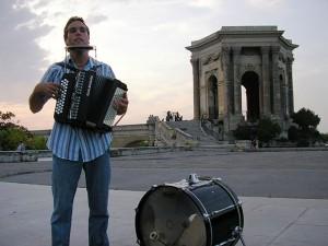 Aktivitäten in Montpellier mit IEF - Musik im Peyrou Park