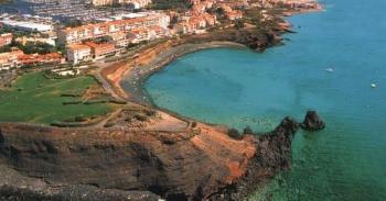 Plage volcanique du Cap d'Agde