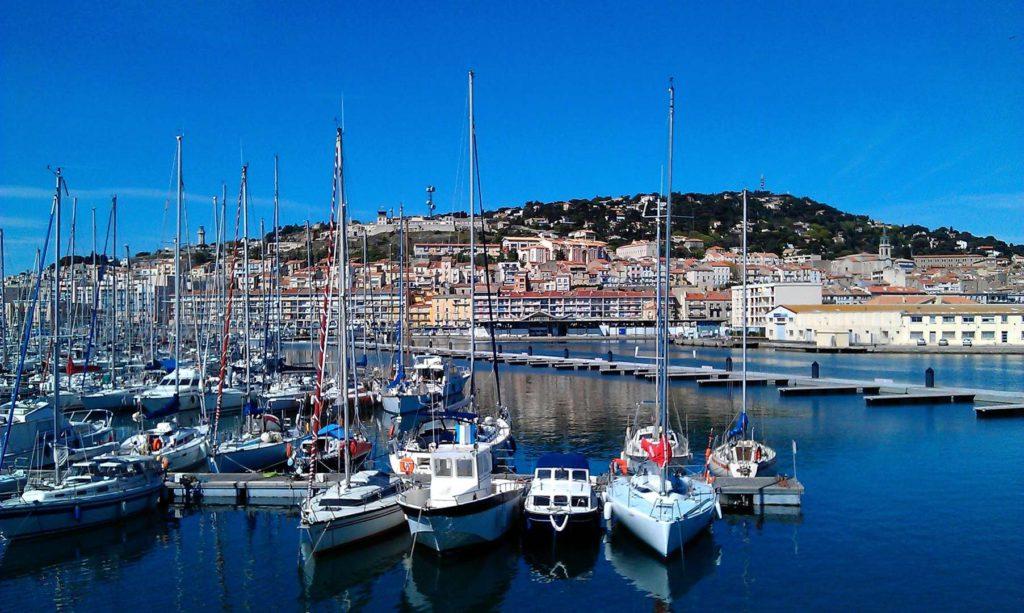 Port de Sète bateaux
