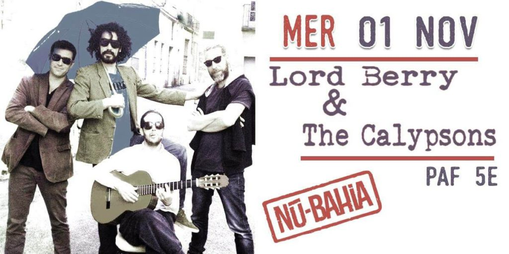 Lord Berry & The Calypsons au Nu Bahia