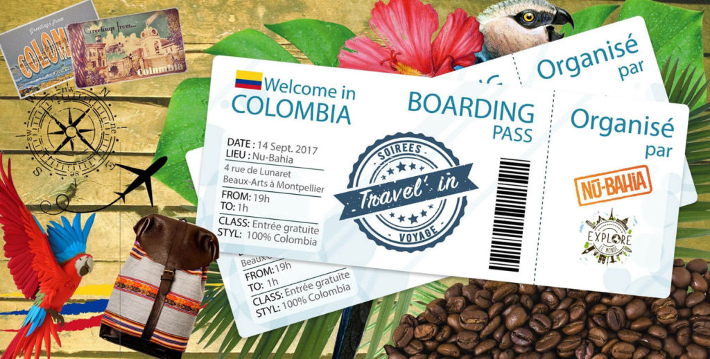 Soirée Travel'in - Colombia