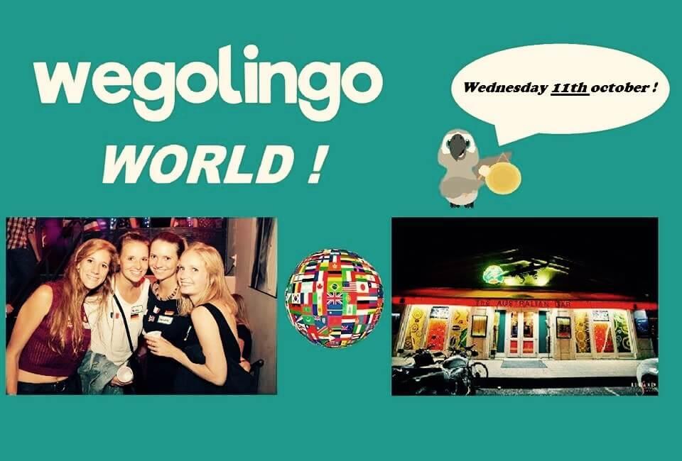 Échange linguistique, Wegolingo, soirée internationale