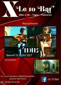 concert Idik Montpellier