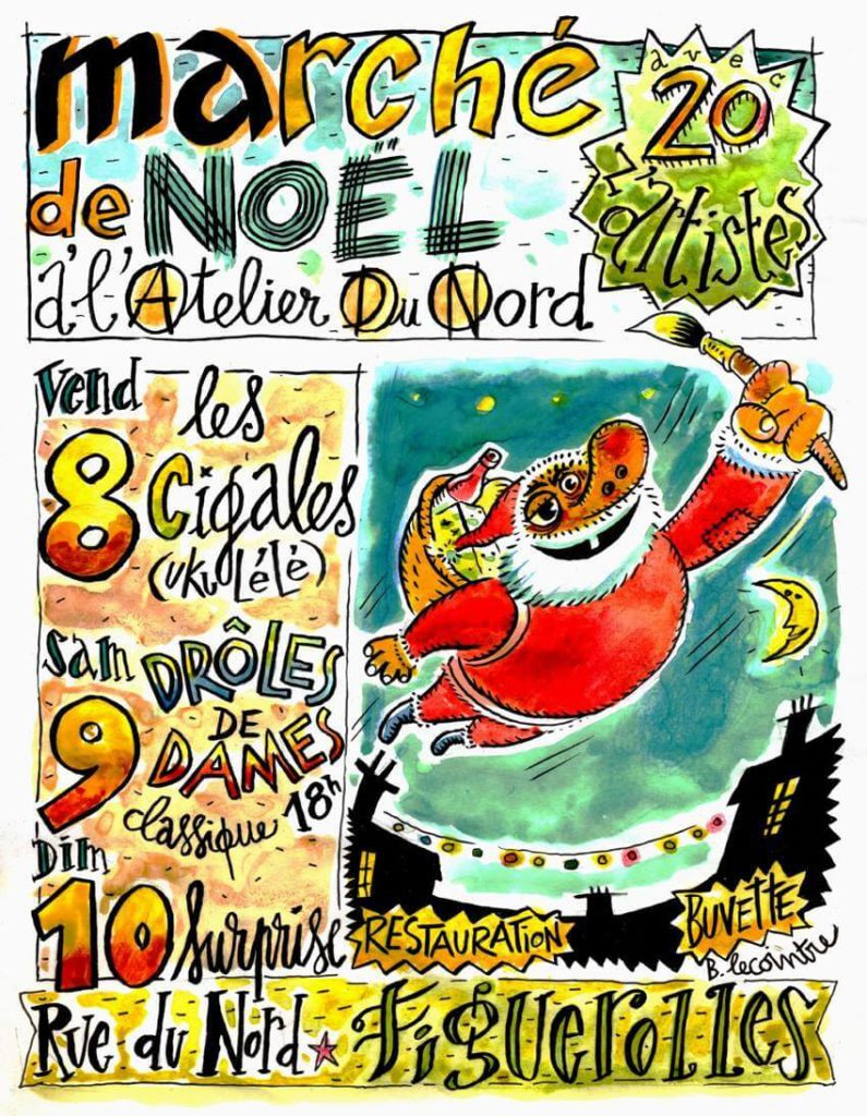 Marché de Noël à l'atelier du Nord