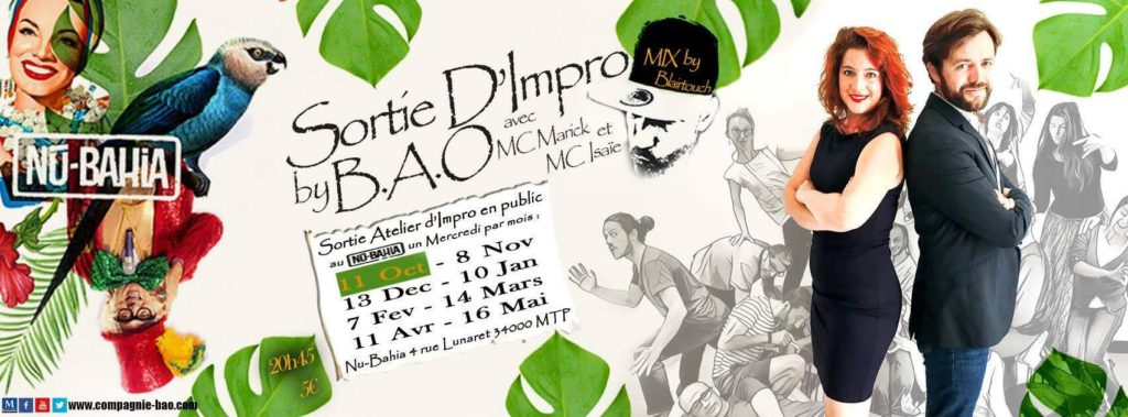 Spectacle d'improvisation BAO
