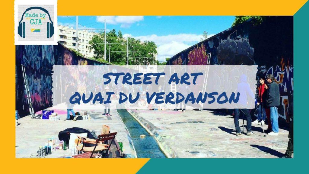 Street Art - Quai du Verdanson
