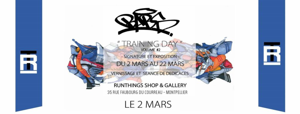 Training day, vernissage