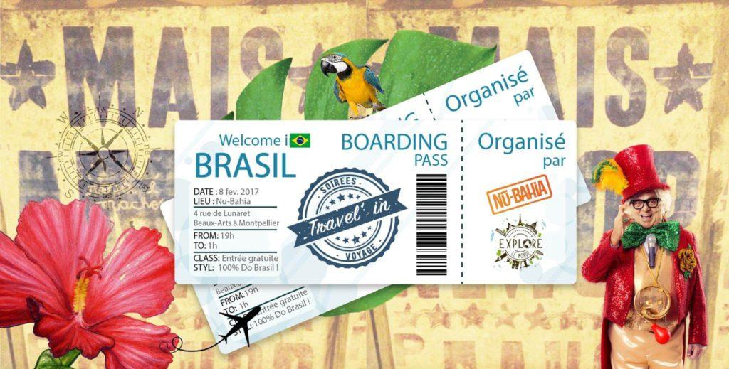 Soirée Travel'in Brasil