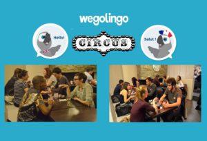 WeGoLingo échange linguistique français anglais
