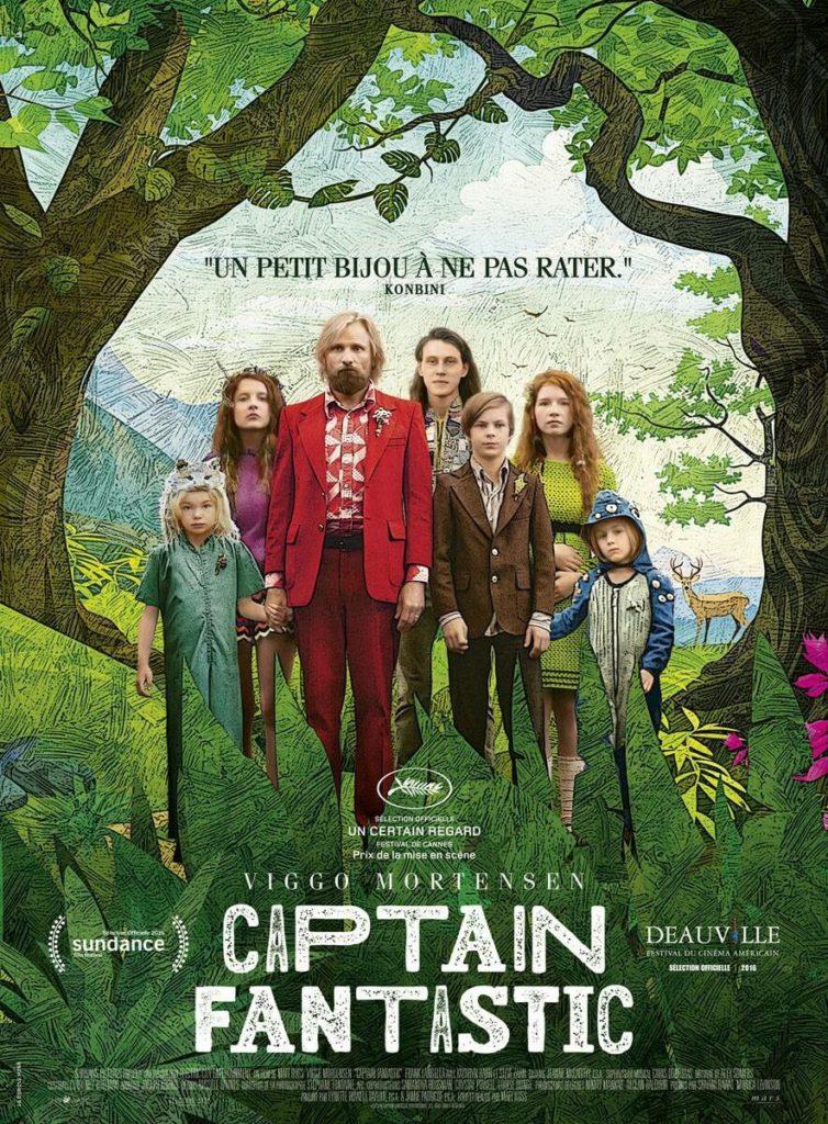Cinéma en plein air - Captain Fantastic