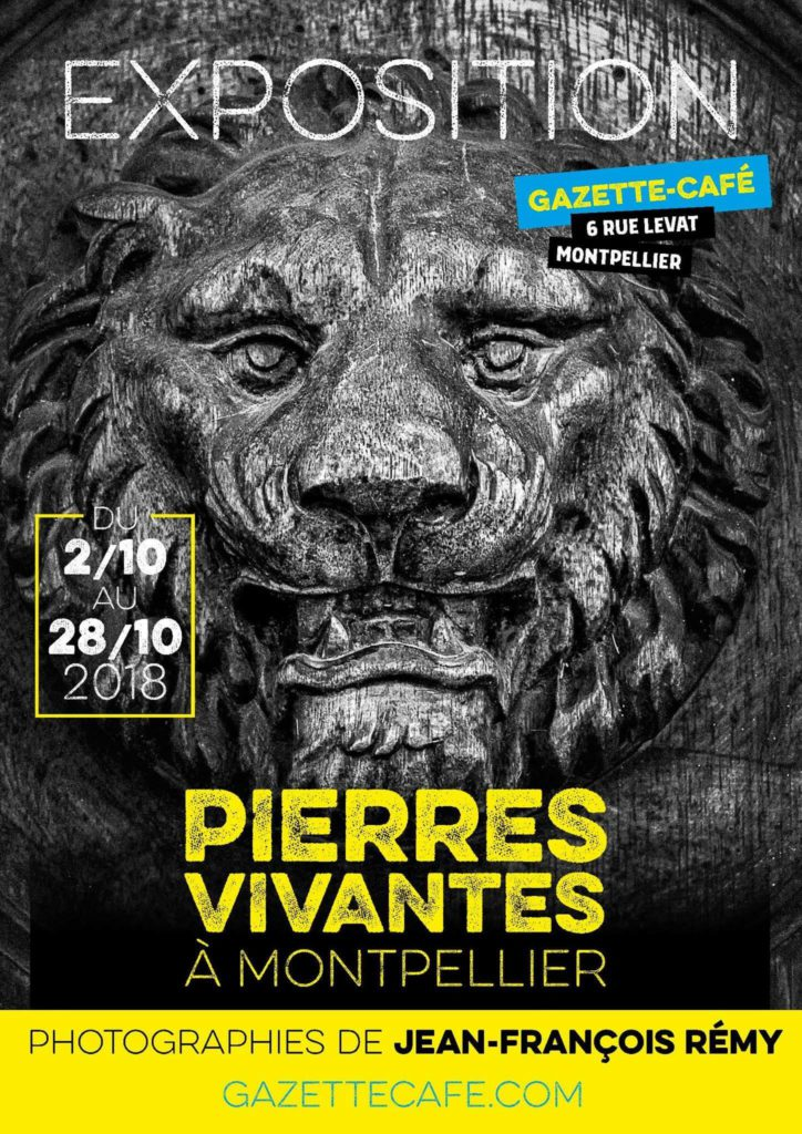 Expo photos - Pierres vivantes à Montpellier