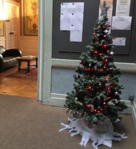 Noël à l'IEF
