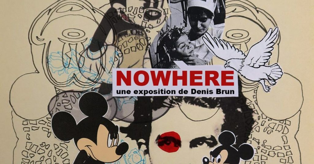 Vernissage de l'exposition Nowhere