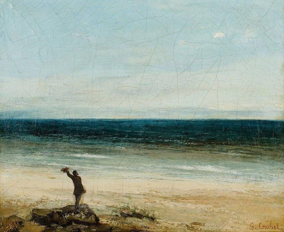 Courbet, fou de peinture