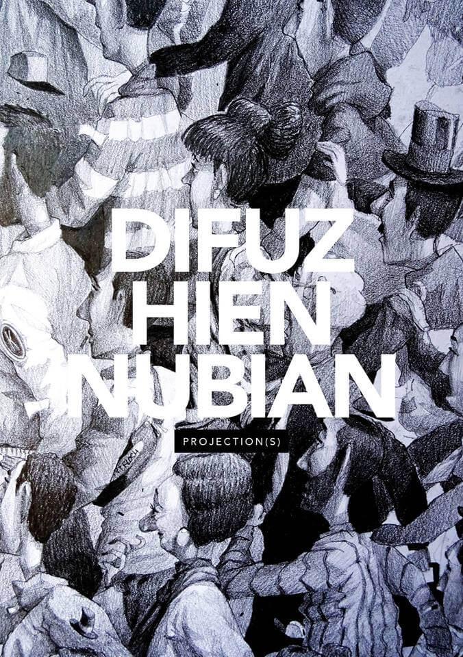Vernissage de l'exposition Difuz, Hien et Nubian