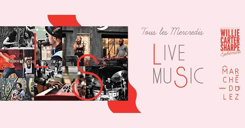 Live Music au Marché du Lez
