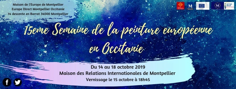 Semaine de la peinture européenne en Occitanie