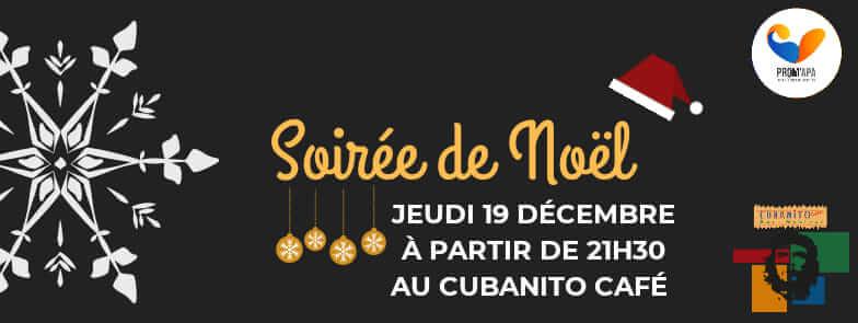 Soirée de Noël au Cubanito