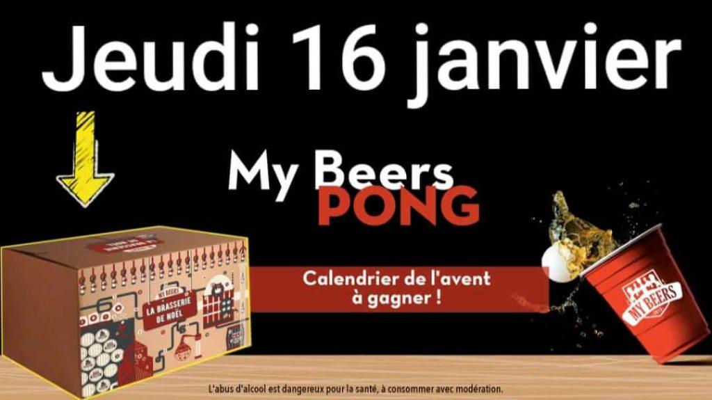 My beers pong