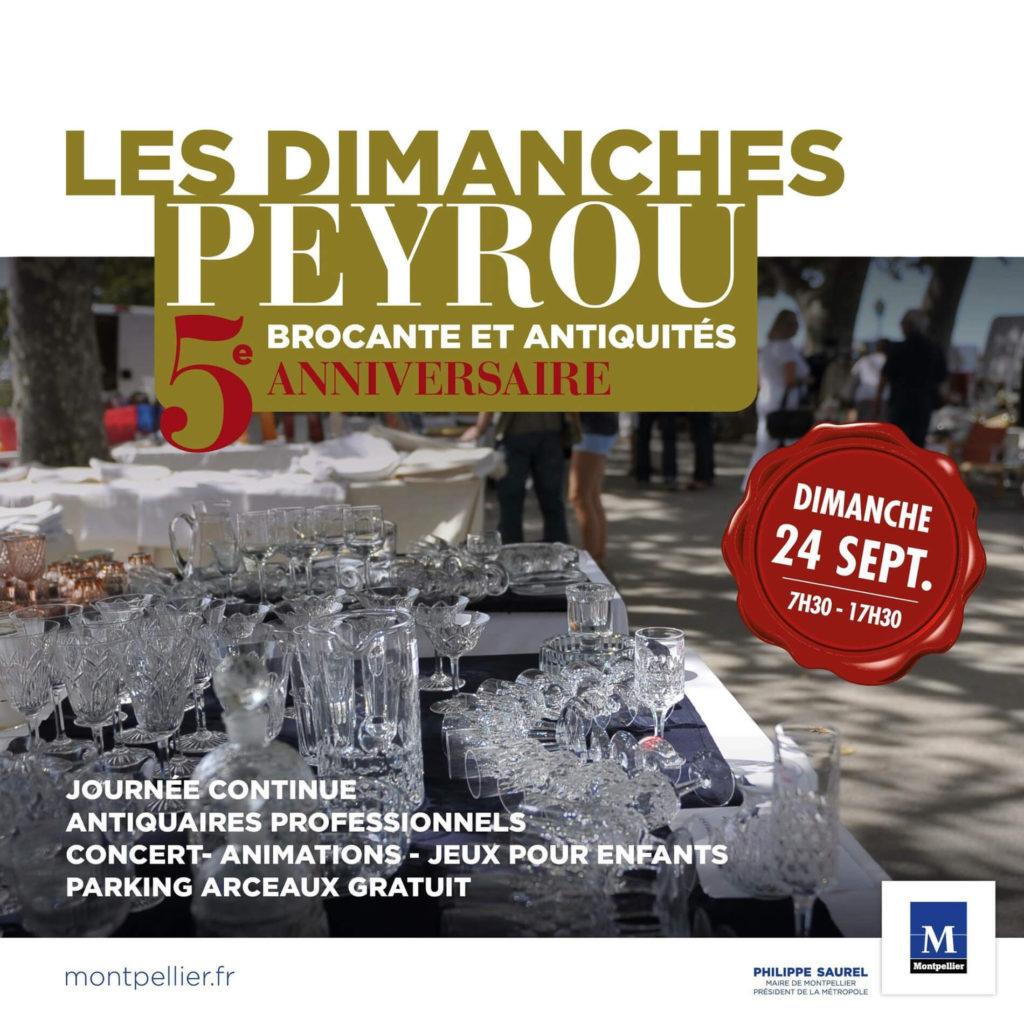 5ème anniversaire des Dimanches du Peyrou