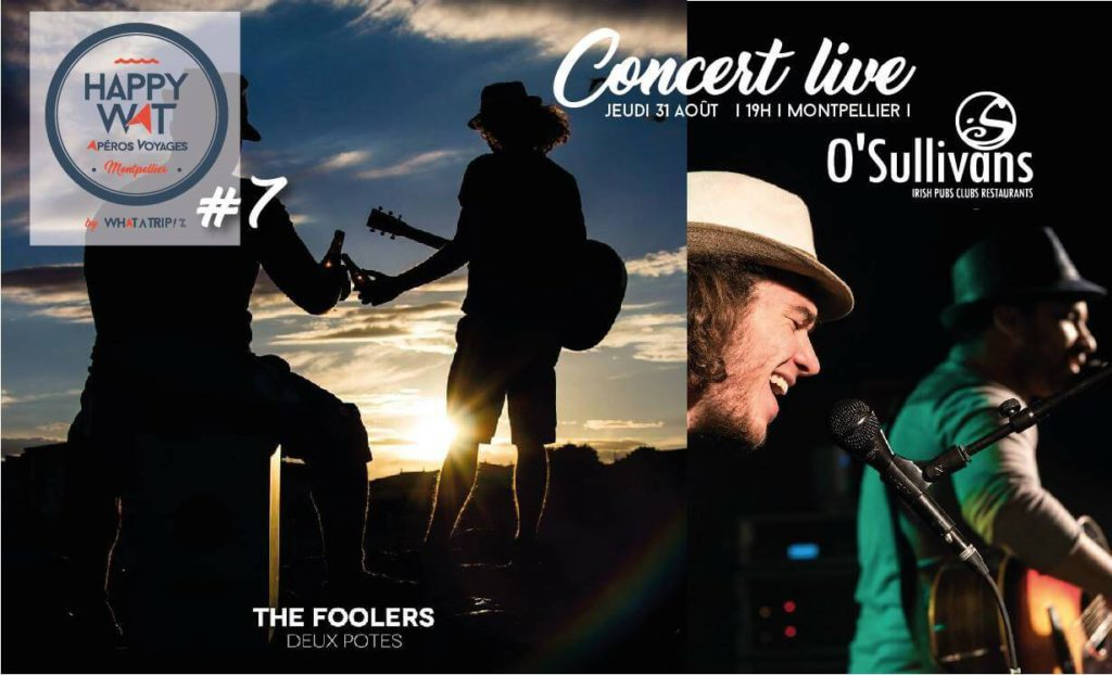 Concert The Foolers, O'Sullivans