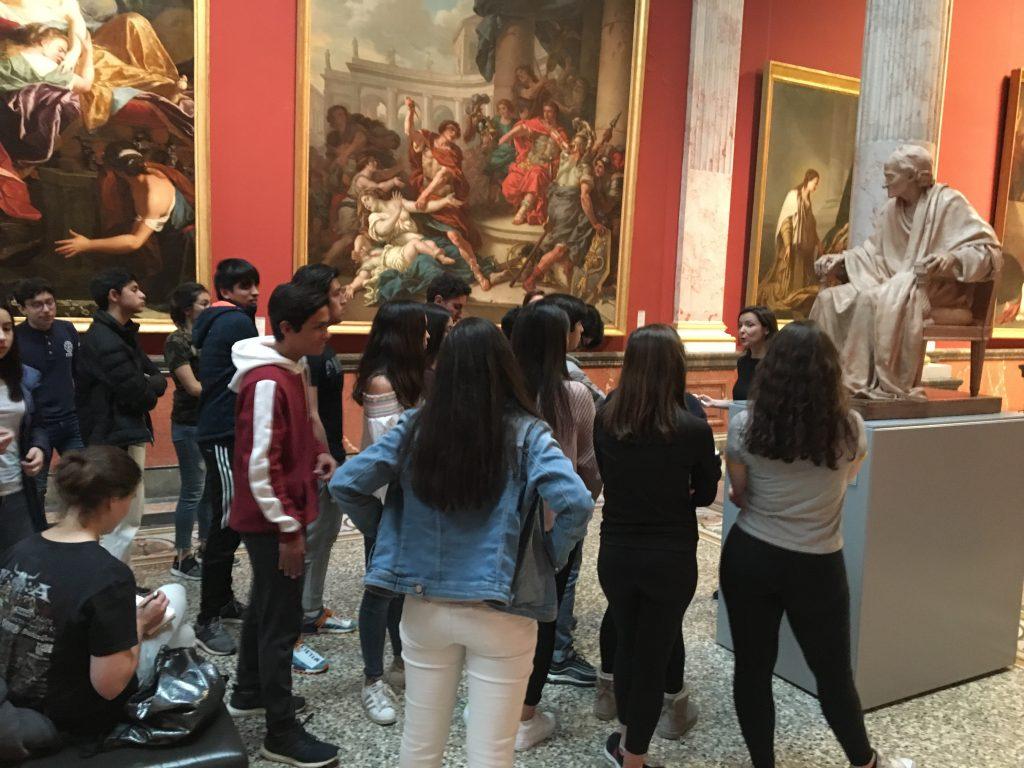 Visite du musée Fabre