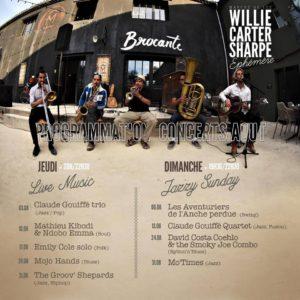 Concerts au Willie Carter Sharpe