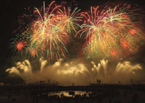 Les feux d'artifice du 14 juillet