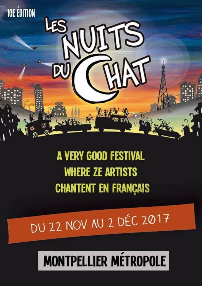 Ouverture du Festival Les Nuits du Chat