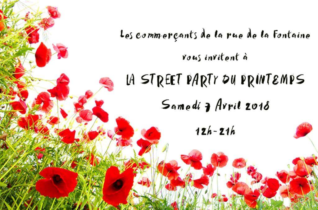 Street party du printemps
