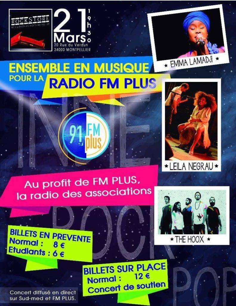 Ensemble en musique pour la radio FM plus