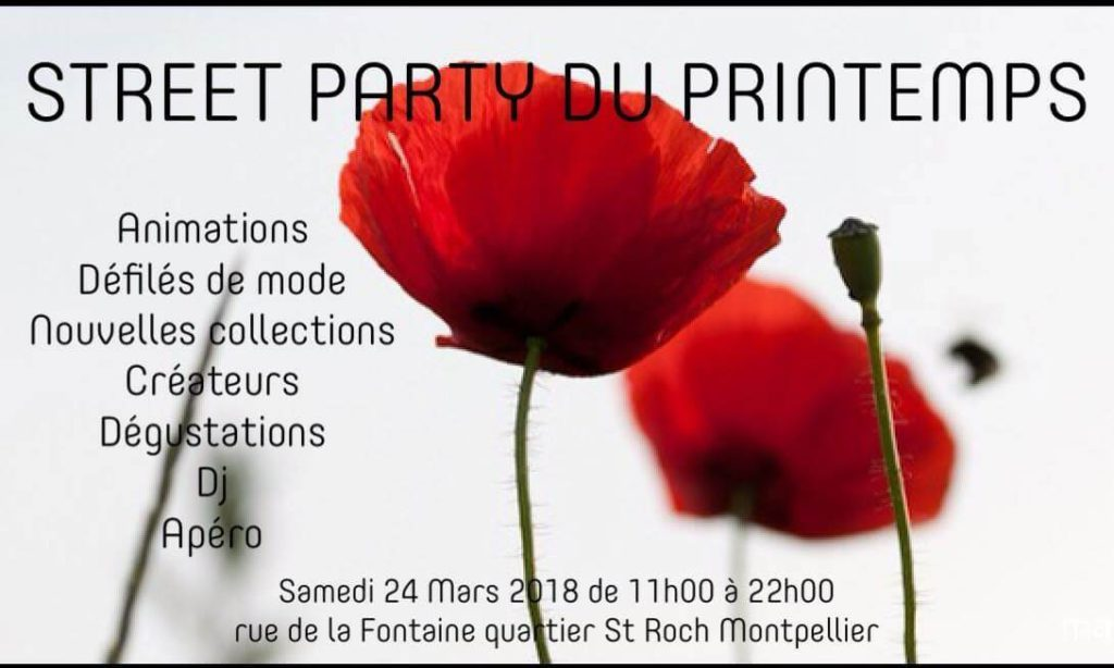 Street party du printemps