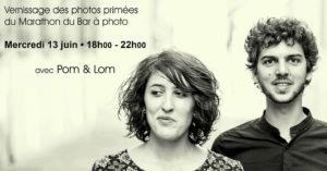 Vernissage photo et concert Pom & Lom