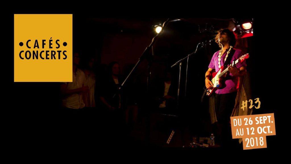 Cafés concerts - Internationales de la guitare