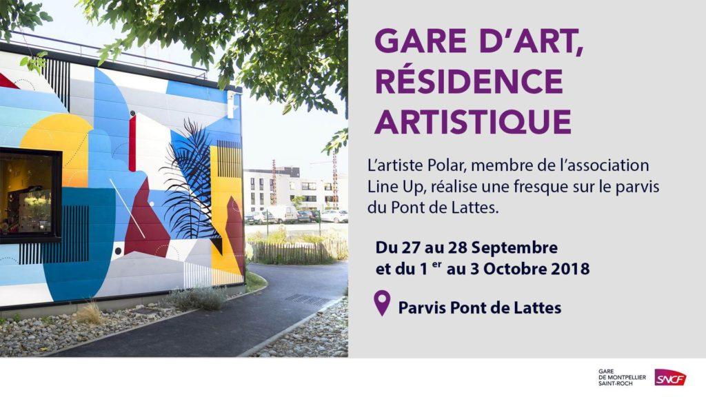 Gare d'art, résidence artistique