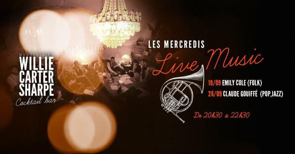 Les mercredis Live Music