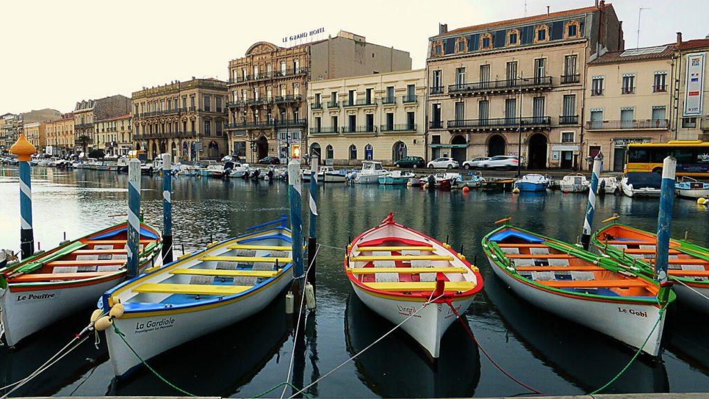 Bateau à Sète
