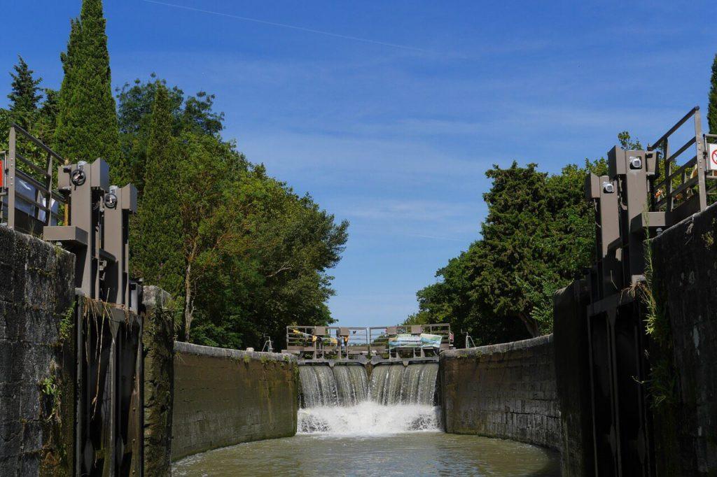 Écluses - Canal du Midi