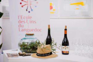 Dégustation avec l'école des vins du Languedoc