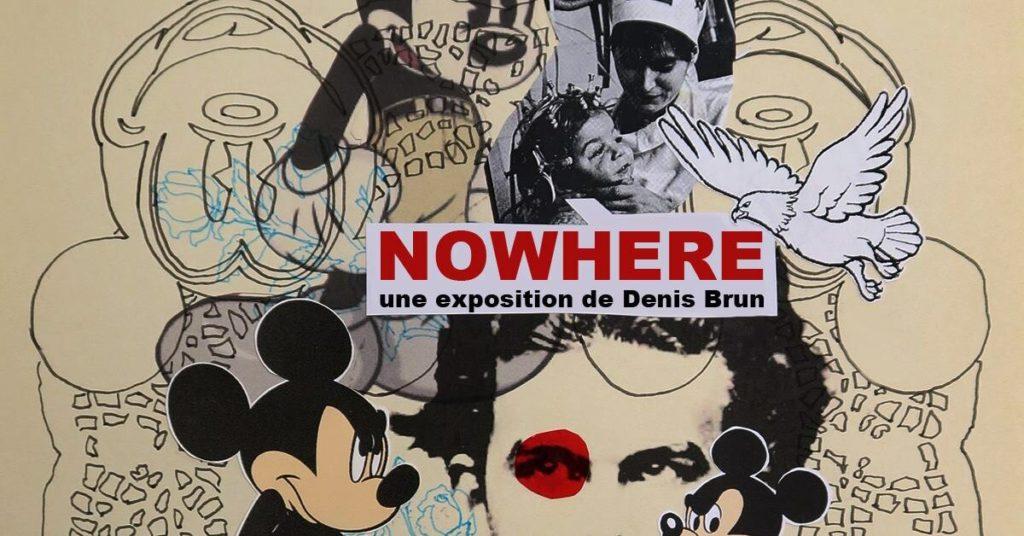 Vernissage de l'exposition Nowhere
