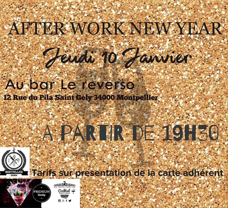 Afterwork new year 2019