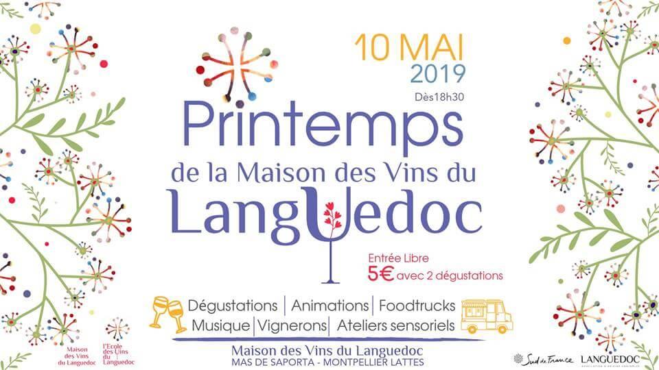 Printemps de la maison des vins du Languedoc
