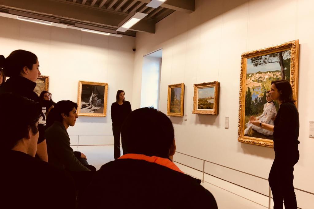 Visite au musée Fabre